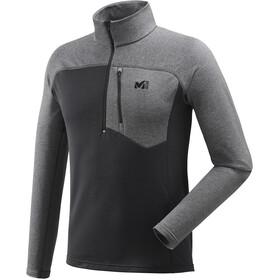 Millet Technostretch Bluzka z długim rękawem Mężczyźni szary/czarny